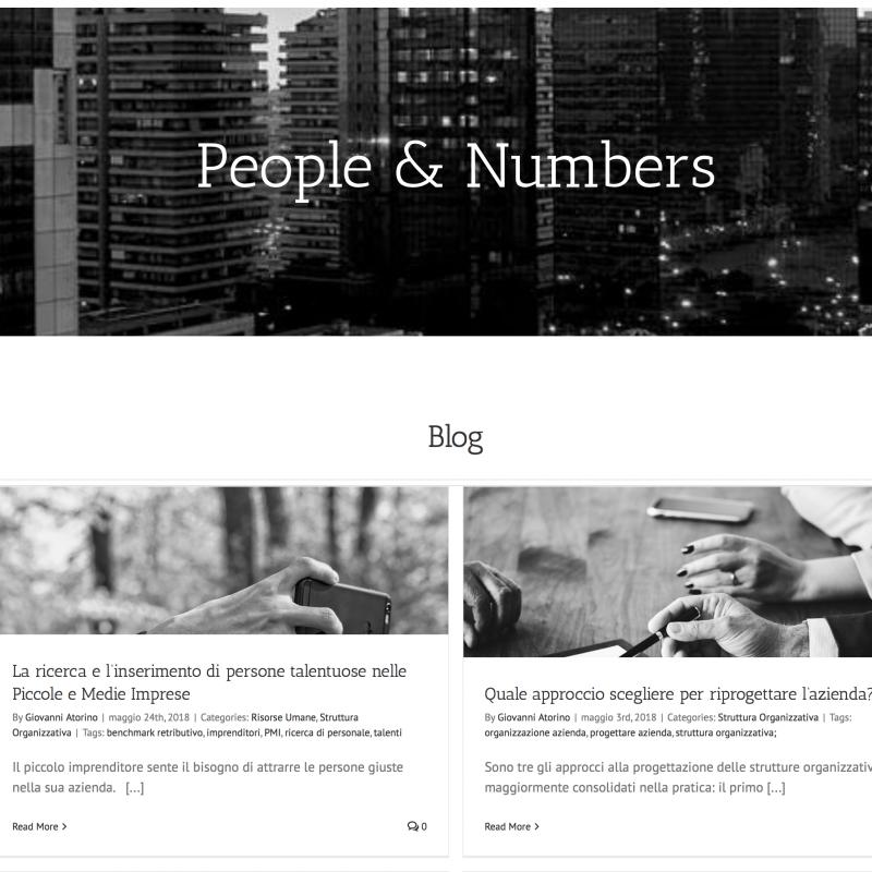 People & Numbers